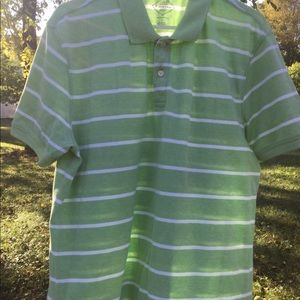 ST. JOHN'S BAY MENS LARGE LEGACY POLO